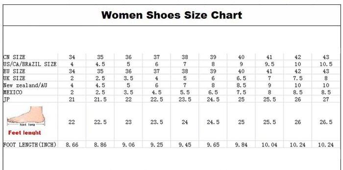 Сетка размера женской обуви на алиэкспресс